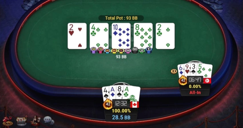 Tutorial on playing online poker gambling to quickly win